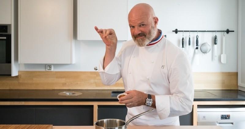 Philippe Etchebest a sorti un livre de recettes gratuit pour les enfants !