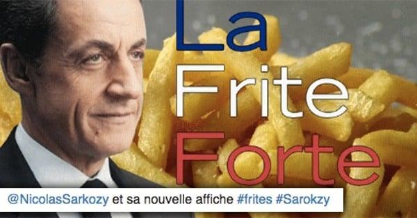 Nicolas Sarkozy moqué sur Twitter suite à sa proposition de donner « une double-ration de frites aux élèves qui ne mangent pas de porc »... La preuve avec 24 tweets hilarants !