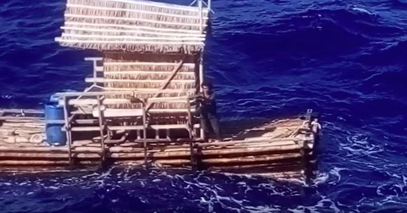 À 18 ans, cet Indonésien survit 49 jours dans le Pacifique sur sa cabane de pêche à la dérive