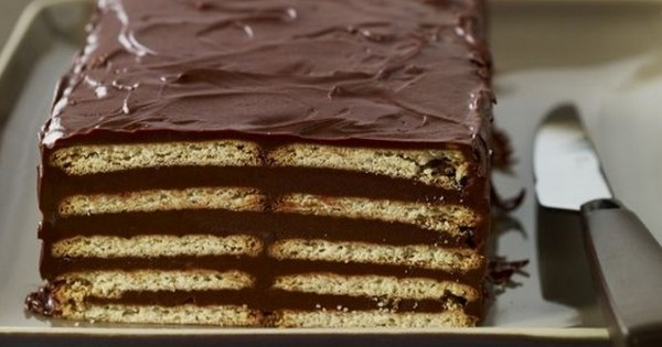 gâteau au Petit-Beurre et au chocolat