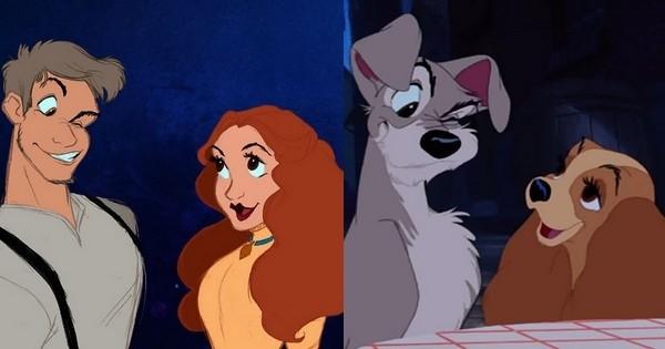Une artiste imagine les animaux de Disney en être humains ! Et c'est vraiment réussi !