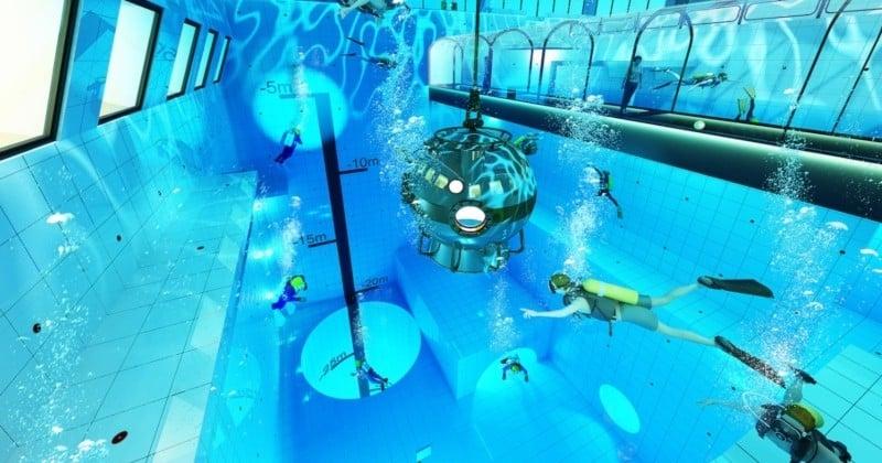 La piscine la plus profonde du monde va ouvrir en Pologne !