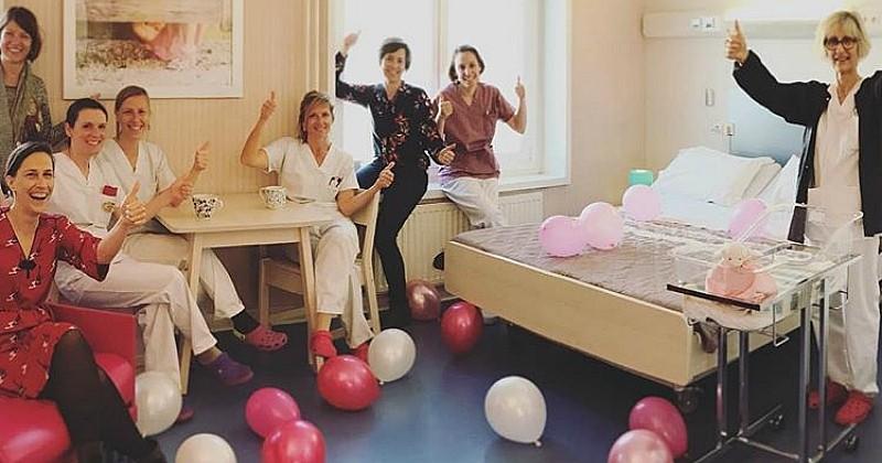 À Grenoble, cette maternité offre aux parents la possibilité de dormir ensemble dans des lits doubles