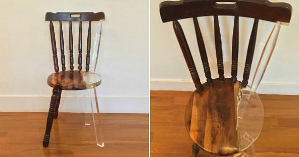 cette artiste r nove des chaises de la fa on la plus originale qui soit vous allez vouloir lui. Black Bedroom Furniture Sets. Home Design Ideas