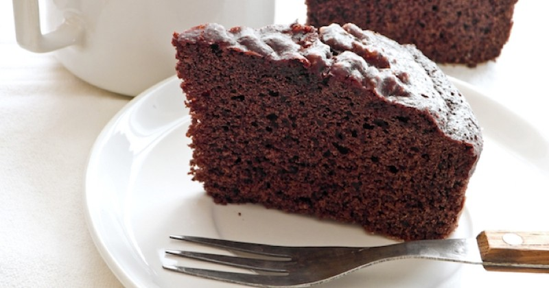 gâteau au chocolat sans lait et sans oeufs