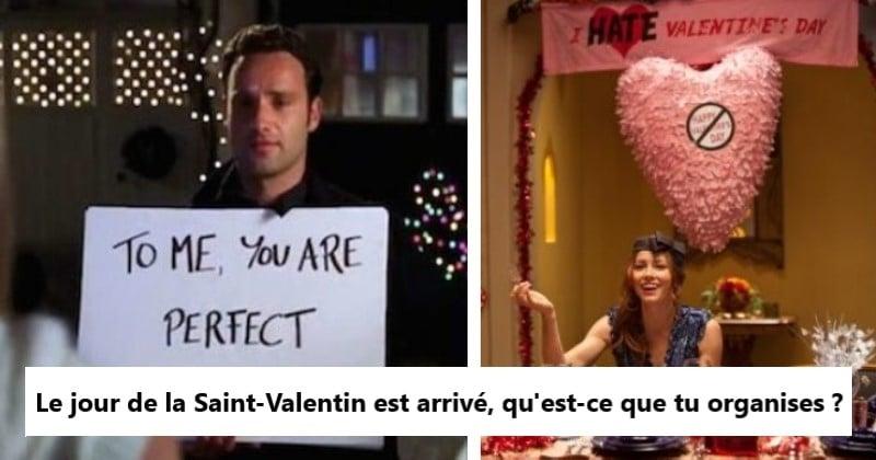 Test Saint-Valentin : quel genre de valentin(e) es-tu ?