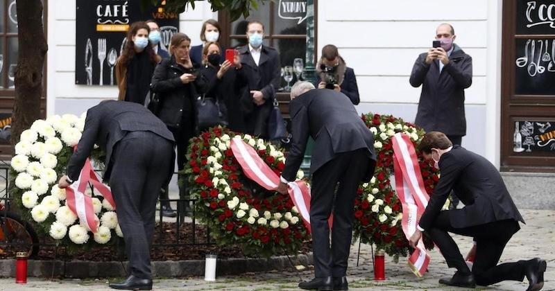 Lors de l'attentat de Vienne, un Palestinien a sauvé un policier blessé par balle