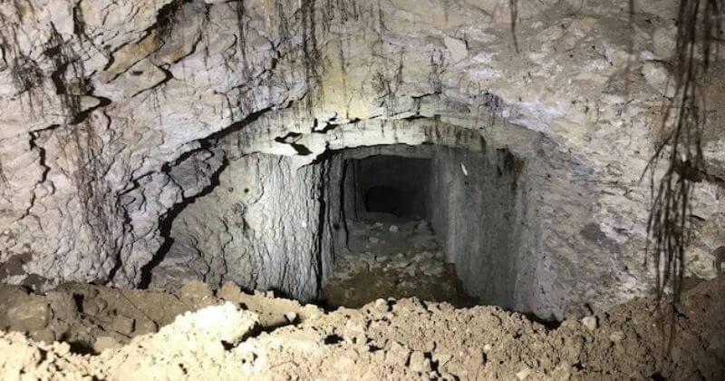 Un tunnel allemand de la Première Guerre mondiale, enfoui à 30 mètres de profondeur, découvert dans l'Oise
