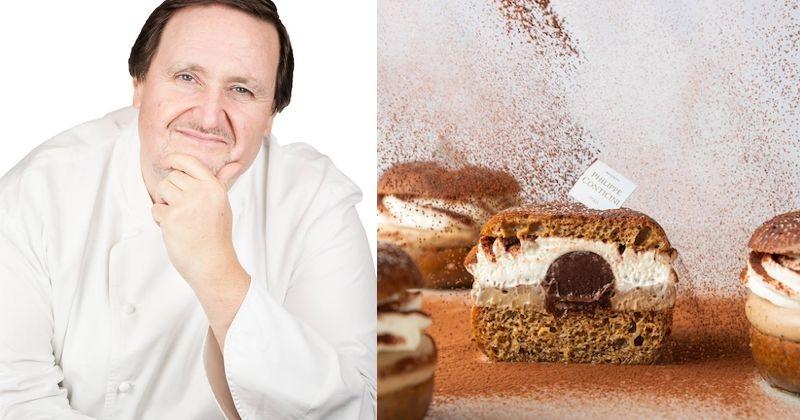 Le Chef Philippe Conticini a imaginé le «Baba Misu», un Baba façon tiramisu !