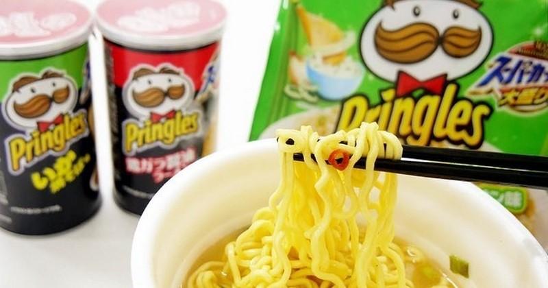 Des ramens au goût Pringles débarquent au Japon !