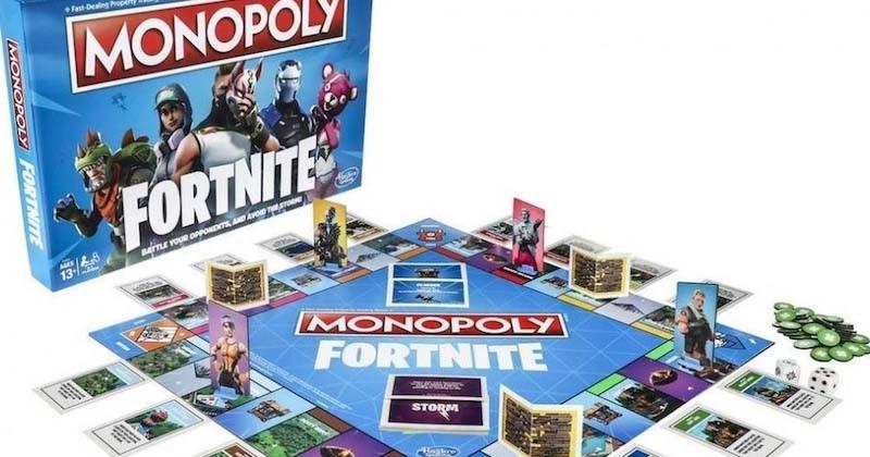 Le jeu vidéo Fortnite se décline en Monopoly