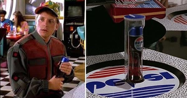 La bouteille Pepsi de « Retour vers le futur 2 » commercialisée le 21 octobre prochain, le jour où Marty débarquera dans notre époque !