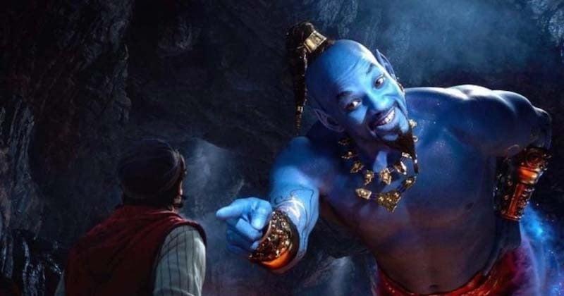 Will Smith se révèle en génie bleu dans le nouveau trailer d'Aladdin