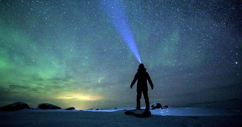 Il a sillonné la Laponie en solitaire pendant 23 jours, et nous en rapporte des photos extraordinaires