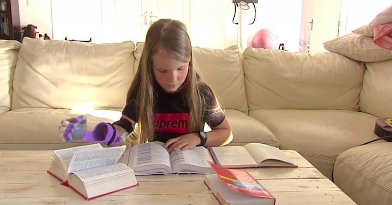 Des salariés d'Airbus fabriquent bénévolement une prothèse pour une fillette de 9 ans, née sans avant-bras droit