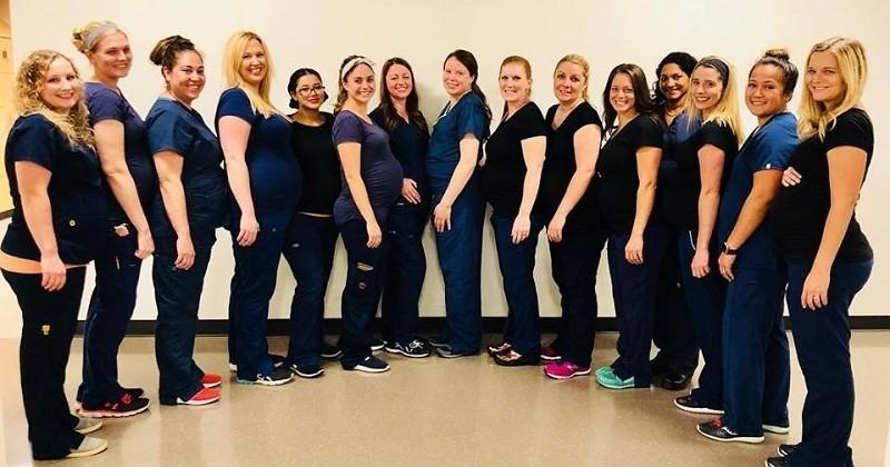 Aux États-Unis, 16 infirmières d'un même service tombent enceintes... au même moment