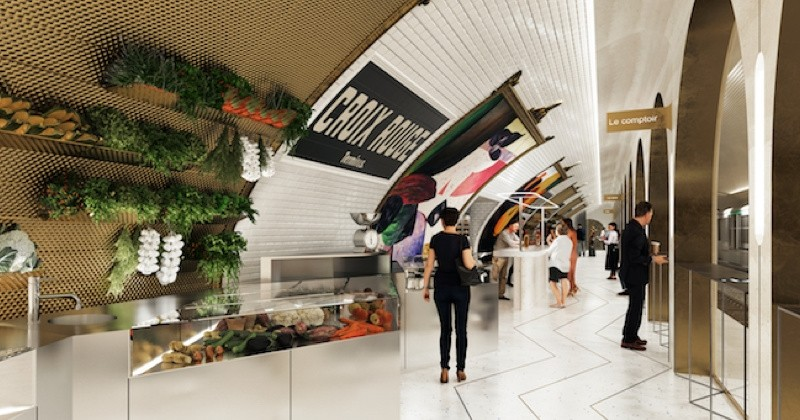 Une station de métro bientôt transformée en restaurant à Paris !