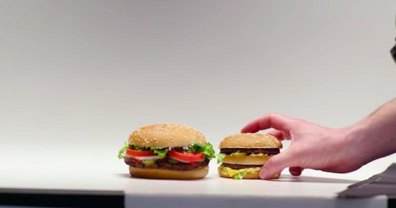 Burger King s'est moqué de McDonald's toute l'année !