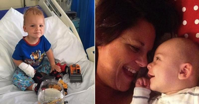 «Il riait jusqu'à 17h par jour! ». Ses parents pensaient avoir un bébé heureux, il était en fait atteint d'une tumeur au cerveau