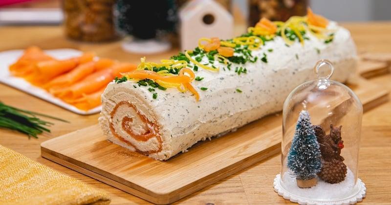 Choisissez une bûche au saumon pour vos repas de fêtes !