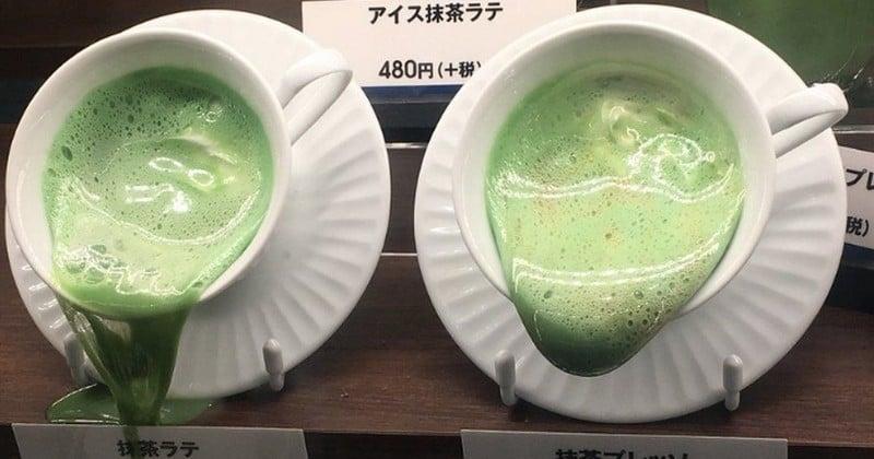 Au Japon, des échantillons de plats en plastique fondent dans les vitrines des restaurants à cause de la chaleur!