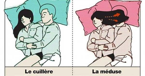 Voici les 10 meilleures et pires positions pour dormir la nuit en couple
