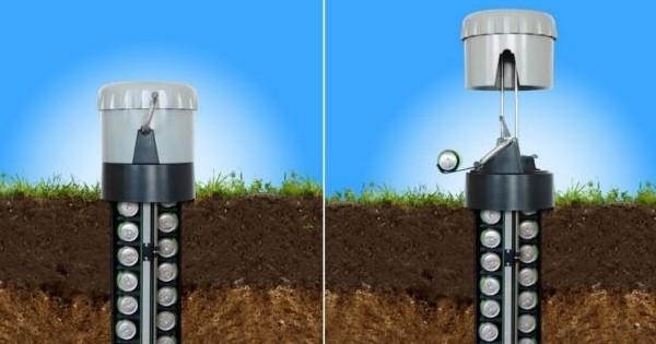 Voici le frigo de jardin le plus génial du monde... Pourquoi on n'a pas inventé ça plus tôt ?