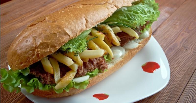 Tentez le magnifique sandwich Gatsby d'Afrique du Sud, délicieusement pimenté !