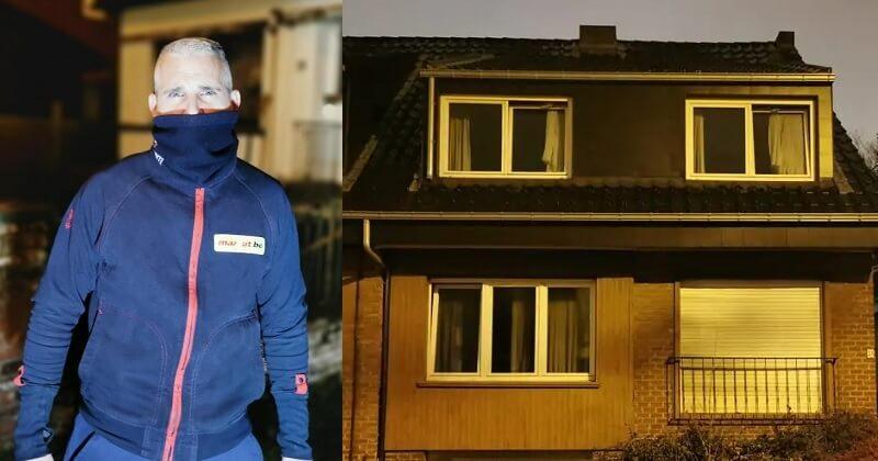 En Belgique, un livreur sauve une vieille dame de l'incendie de sa maison
