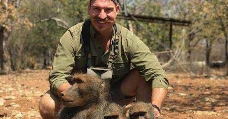 Commissionnaire d'une agence oeuvrant pour la nature, il crée la polémique en se vantant de ses trophées de chasse en Afrique