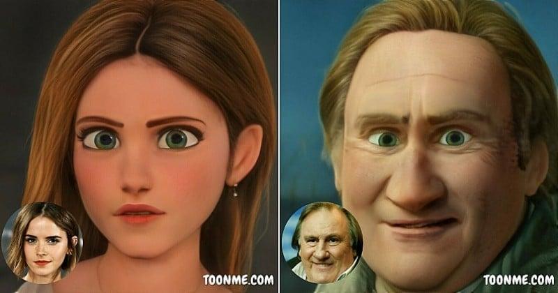 ToonMe, l'application qui vous transforme en un personnage de film d'animation