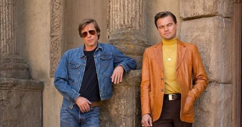 Sur une photo très « sixties », Leonardo DiCaprio et Brad Pitt dévoilent un peu plus l'univers du nouveau Quentin Tarantino