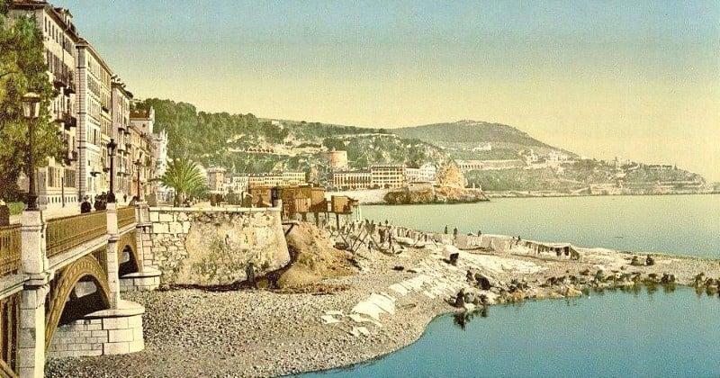 Ces photos colorisées de la Côte d'Azur prises il y a 120 ans vous replongent à la Belle Époque