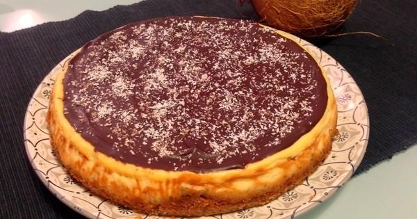 Le dessert du jour : le flan chocolat et noix de coco FACILE !