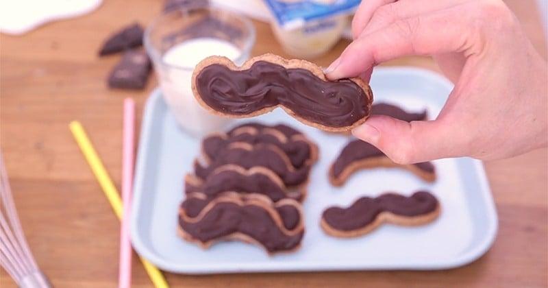A l'occasion du Movember, réalisez des biscuits moustachus ! Ça change et ça décoiffe!