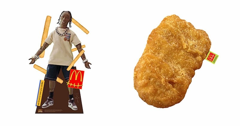 Ce coussin nuggets signé McDonald's x Travis Scott fait un carton !