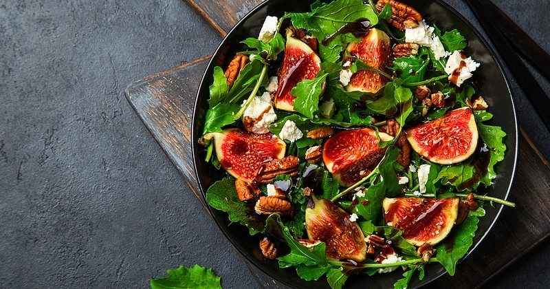 Salade de figue fraîche