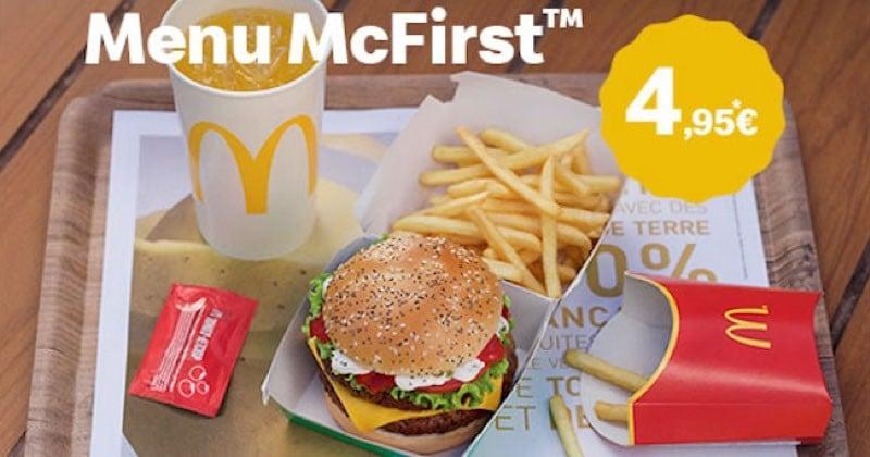 Le menu McFirst est enfin de retour chez McDonald's !