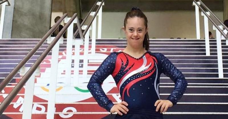 Chelsea Werner, une gymnaste atteinte de trisomie 21