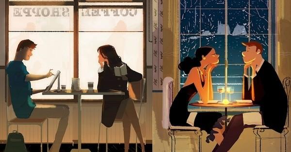16 superbes illustrations qui montrent à la perfection que le bonheur en couple se trouve dans les petits plaisirs du quotidien