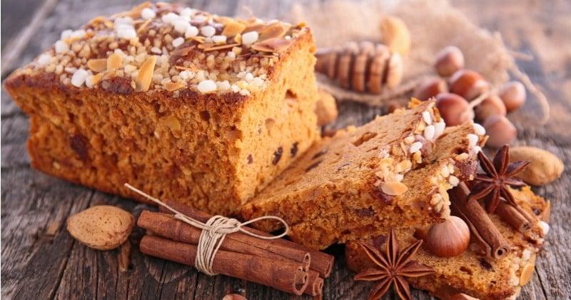 Pour Noêl, préparez votre pain d'épices maison pour accompagner vos tisanes et vins chauds!