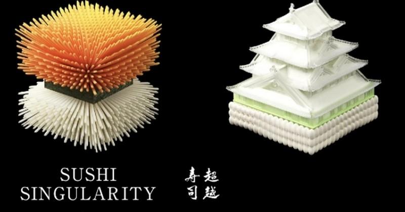 Des sushis imprimés en 3D spécialement pour vous, grâce à vos échantillons d'urine et d'excréments !