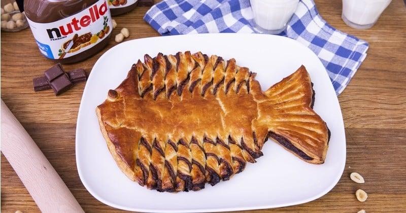 Préparez un poisson d'avril à la pâte à tartiner !