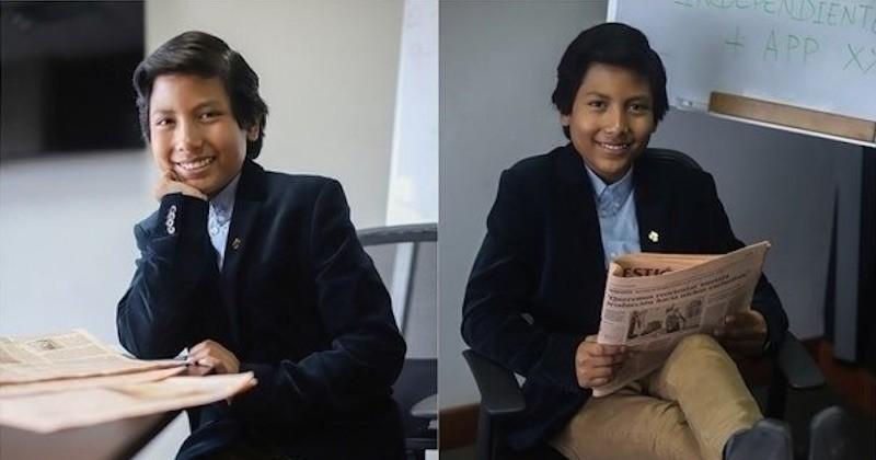 Une banque destinée aux enfants et qui contribue au recyclage, voici l'idée de génie développée par un Péruvien de 13 ans
