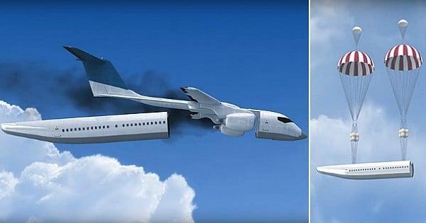 L'avion qui pourrait sauver tous ses passagers en cas de crash est-il une réalité ? Voici l'invention la plus folle du moment...
