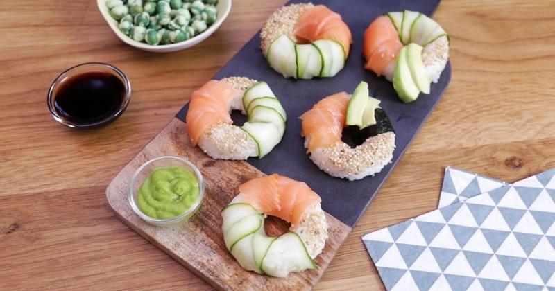 Les sushis donuts, originaux et tellement mignons !