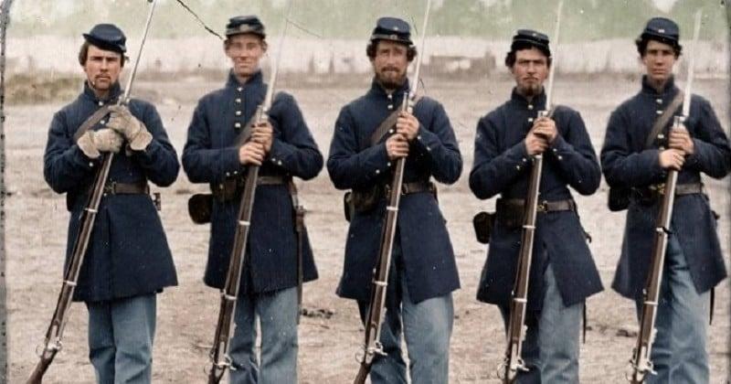 Guerre De Sécession Photos vieilles de 150 ans, ces 20 images de la guerre de sécession
