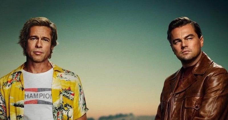 Brad Pitt et Leonardo DiCaprio sur le premier poster de « Once Upon A Time in Hollywood », le prochain film de Tarantino