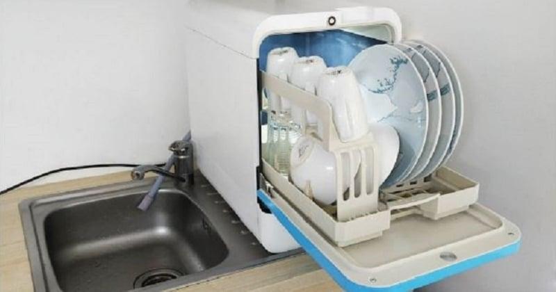 Ce lave-vaisselle compact et écolo va changer la vie de ceux qui n'ont pas de place chez eux