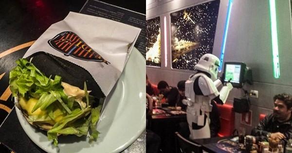 Un restaurant STAR WARS ça vous fait rêver ? Sachez qu'il existe ENFIN !